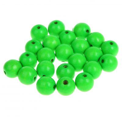 Neonperlen 10mm • 50 Stück 'neon-grün' 0 auf Lager