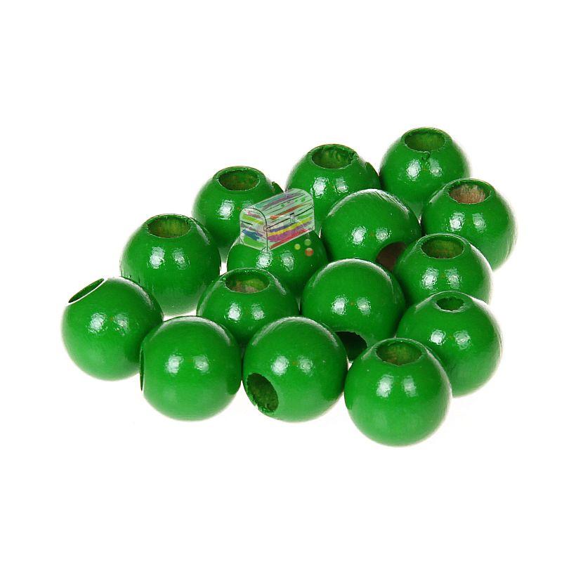 Sicherheitsperlen 12mm • 25 Stück 'grün' 134 auf Lager