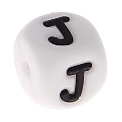 Silikonbuchstaben 10mm 'J' 69 auf Lager
