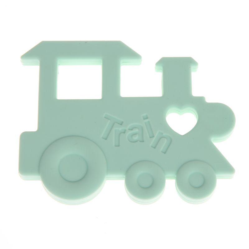 Beißring Lokomotive 'mint' 3 auf Lager