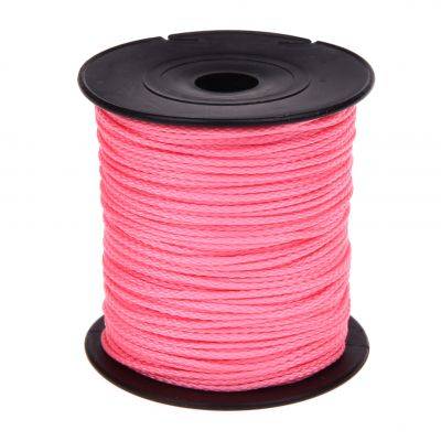 Polyester-Faden Ø 1,5mm • 1 Meter 'rosa' 460 auf Lager