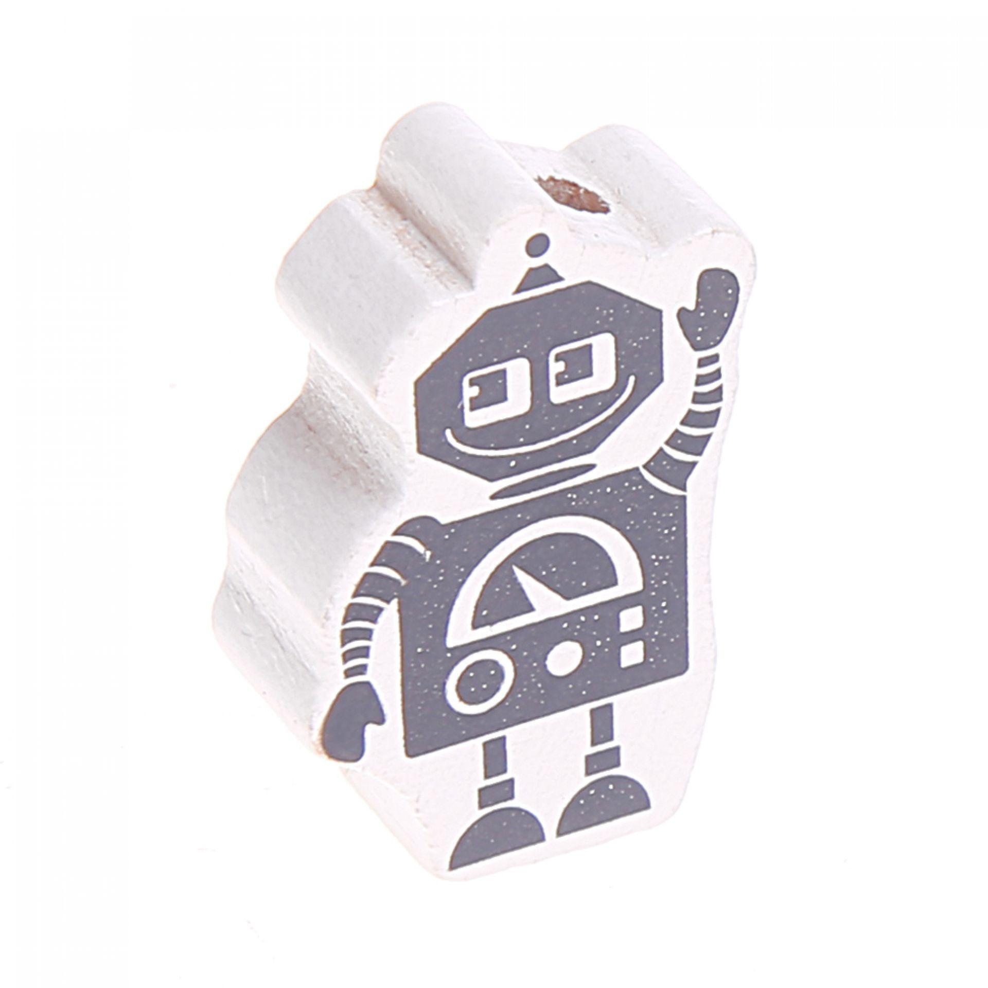 Motivperle Roboter 'weiß' 522 auf Lager