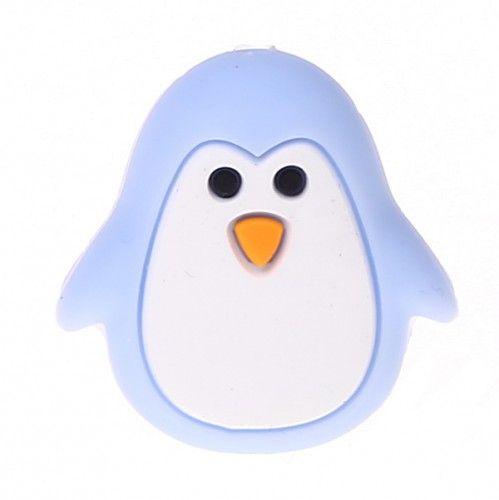 Silikonmotiv Pinguin 'babyblau' 160 auf Lager