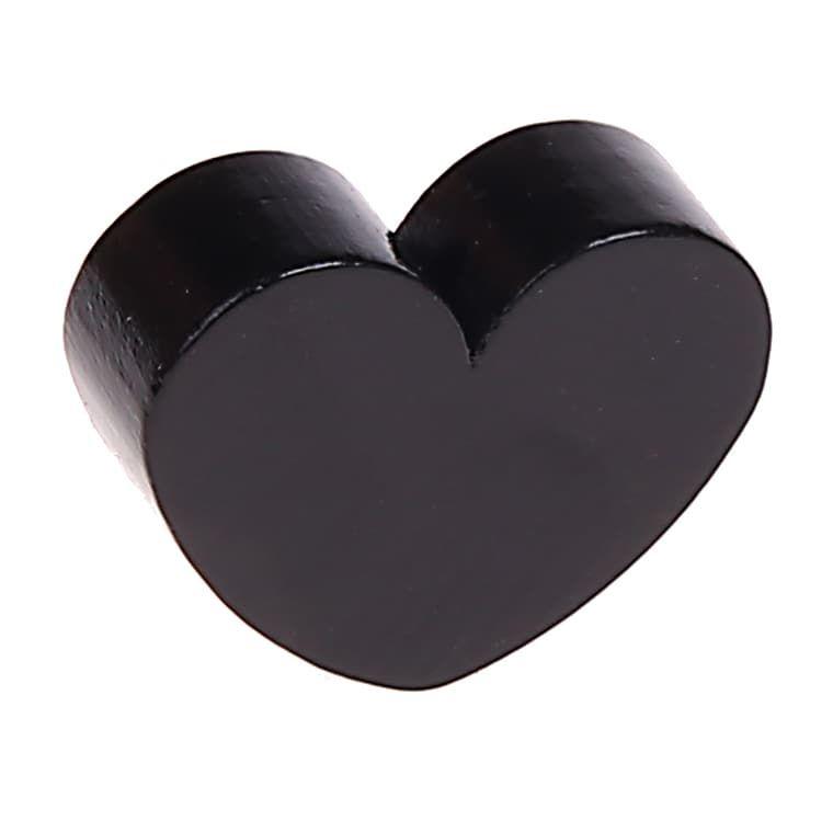 Motivperle Herz (mini) 'schwarz' 239 auf Lager
