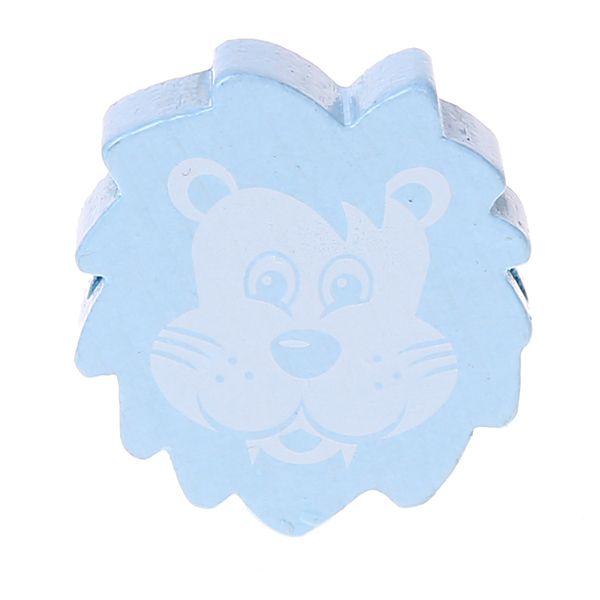 Motivperle Löwe 'babyblau' 333 auf Lager
