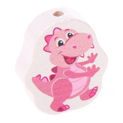 Motivperle Dino 'rosa' 0 auf Lager