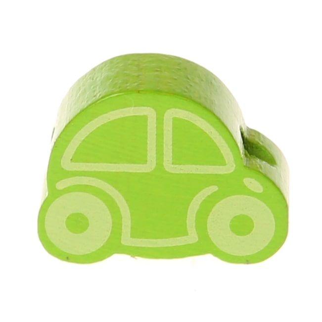 Motivperle Auto Mini 'gelbgrün' 205 auf Lager