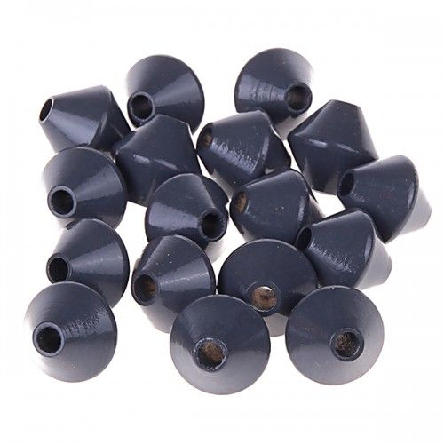 Kreiselperlen 12mm • 25 Stück 'grau' 247 auf Lager