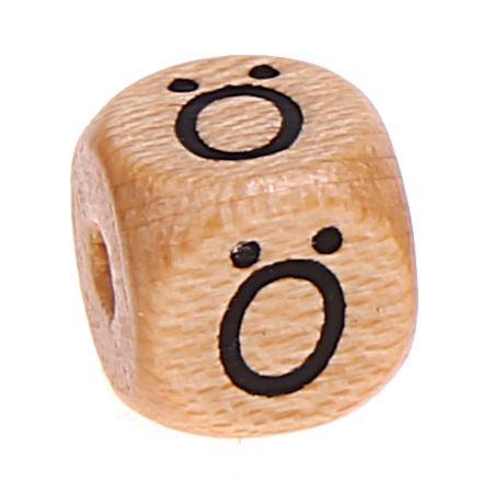 Buchstabenwürfel Holz geprägt 10 mm 'Ö' 762 auf Lager