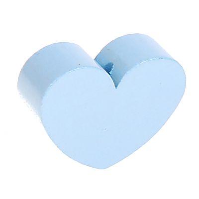 Motivperle Formperle Herz Groß 'babyblau' 228 auf Lager