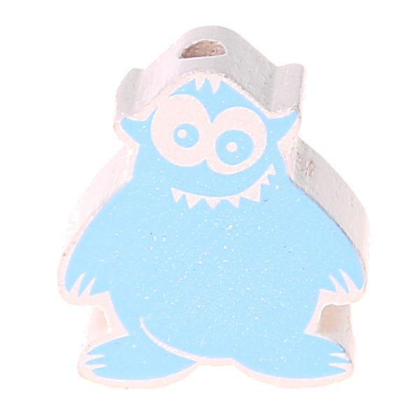 Motivperle Monsterchen 'babyblau' 1026 auf Lager