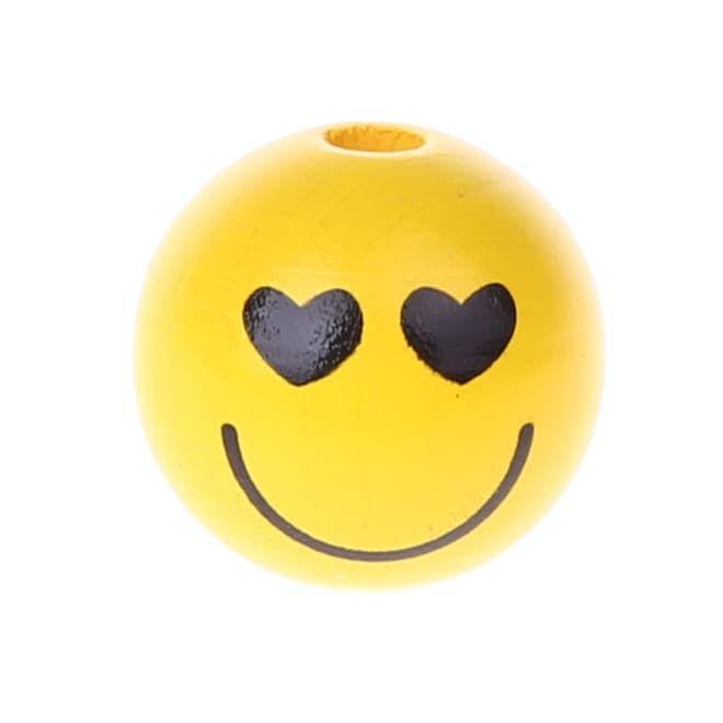 Motivperle Smiley 'verliebt' 1095 auf Lager