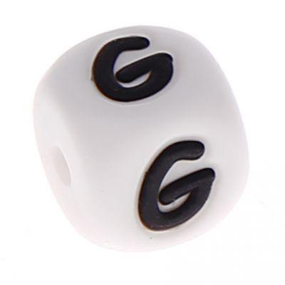 Silikonbuchstaben 10mm 'G' 46 auf Lager
