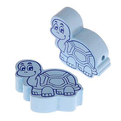 Motivperle Schildkröte • 10 Stück 'babyblau' 120 auf Lager