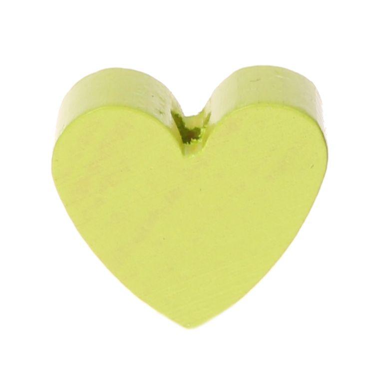 Motivperle Herz (mini) 'lemon' 11 auf Lager