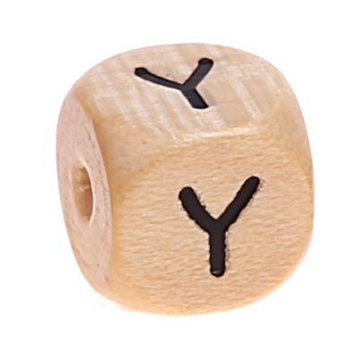Buchstabenwürfel Holz geprägt 10 mm 'Y' 457 auf Lager