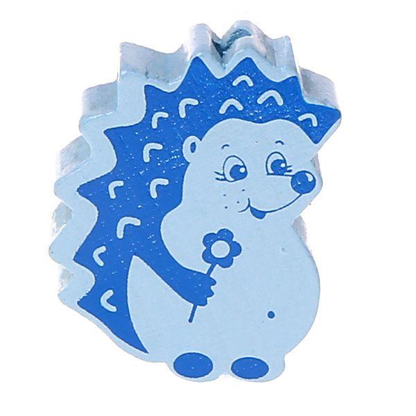 Motivperle Igel 'babyblau' 624 auf Lager