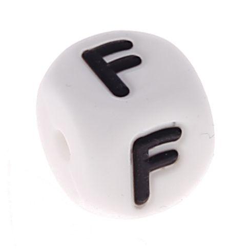 Silikonbuchstaben 10mm 'F' 110 auf Lager