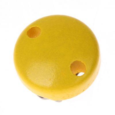 Schnullerclip mini / Holzclip Ø30mm 'gelb' 340 auf Lager