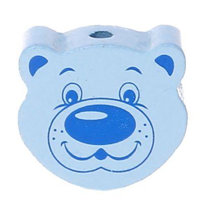 Motivperle Bär 'babyblau' 853 auf Lager