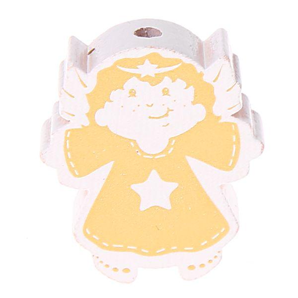Motivperle Engel 'weiß-gold' 867 auf Lager