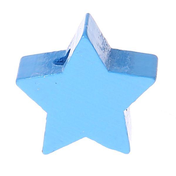 Motivperle Stern mini 'skyblau' 281 auf Lager