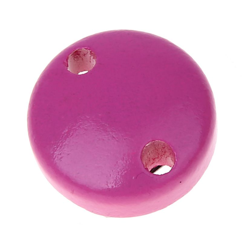 Schnullerclip mini / Holzclip Ø30mm 'pink' 103 auf Lager