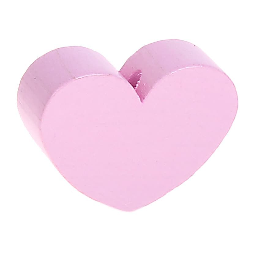 Motivperle Herz (mini) 'rosa' 2393 auf Lager