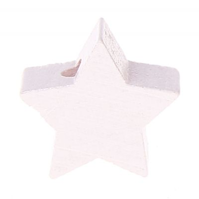 Motivperle Stern mini 'weiß' 1285 auf Lager