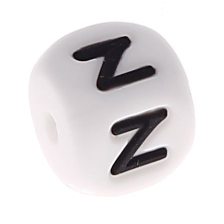 Silikonbuchstaben 10mm 'Z' 15 auf Lager