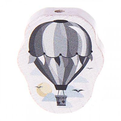 Motivperle Heißluftballon 'grau' 33 auf Lager