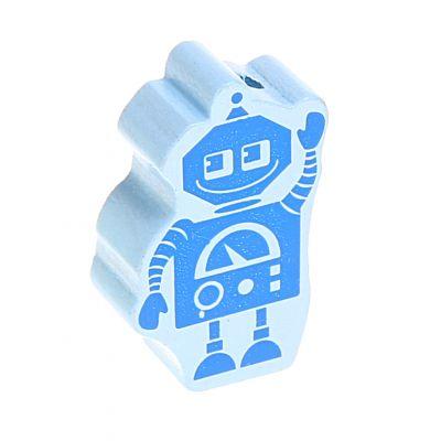 Motivperle Roboter 'babyblau' 885 auf Lager