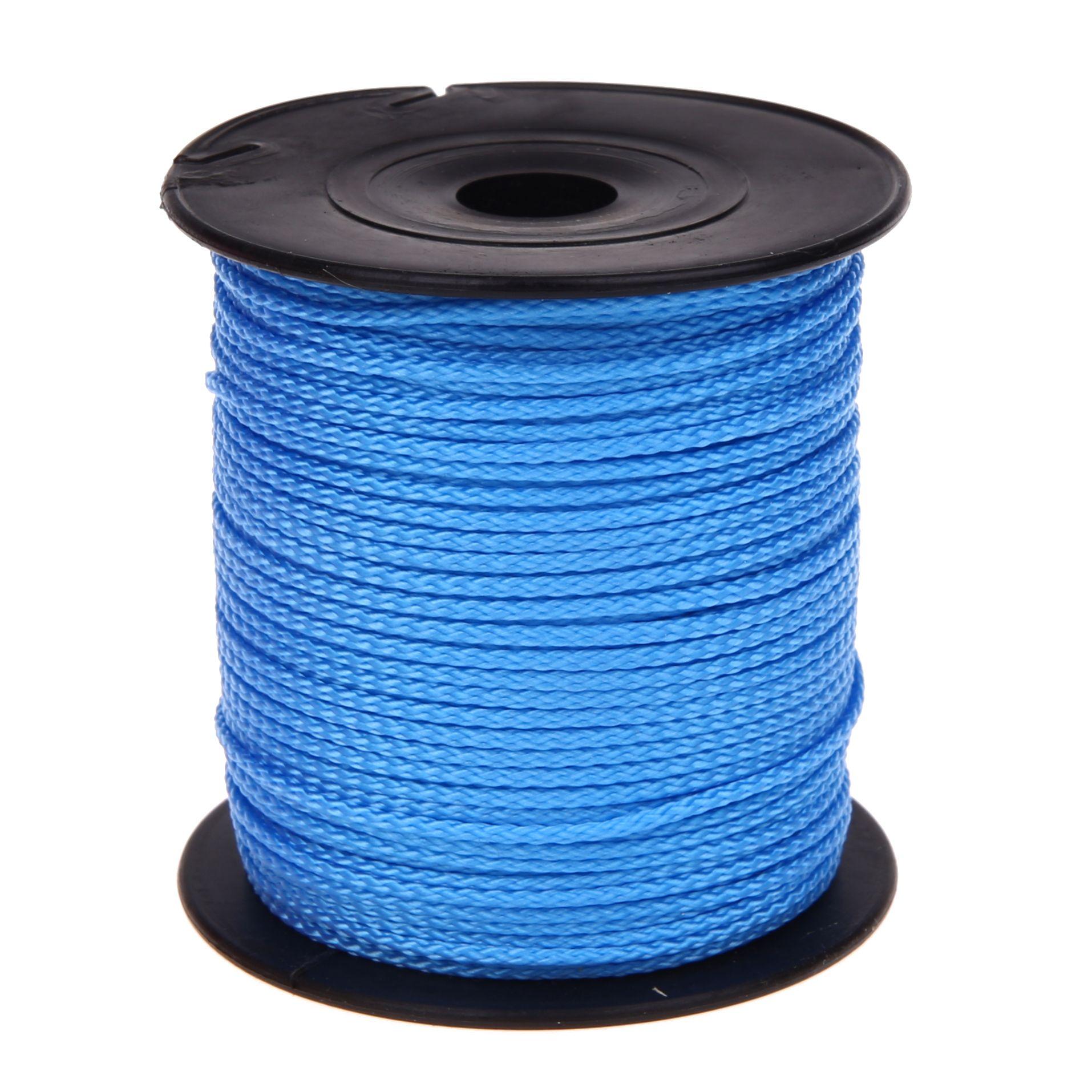 Polyester-Faden Ø 1,5mm • 1 Meter 'skyblau' 170 auf Lager