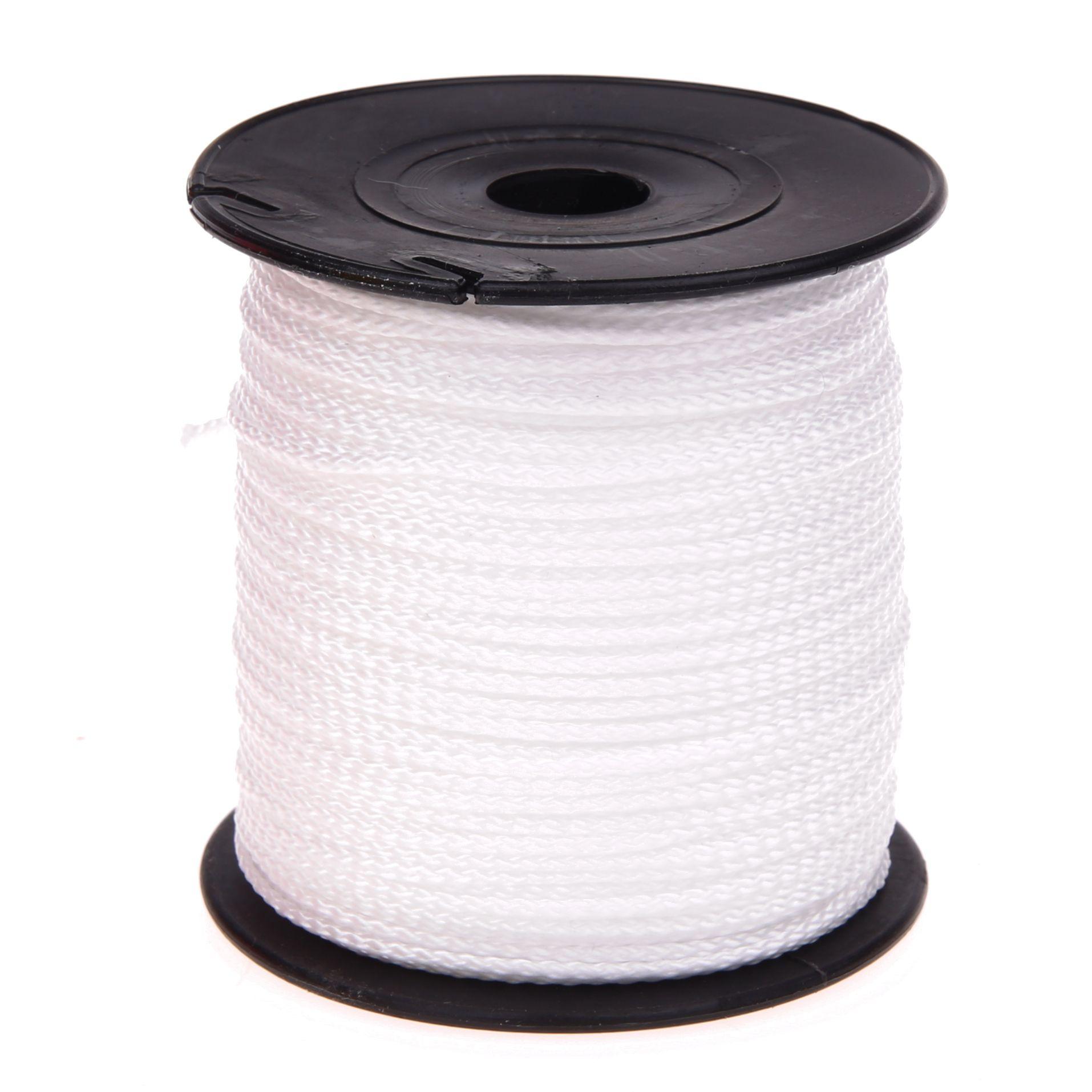 Polyester-Faden Ø 1,5mm • 1 Meter 'weiß' 5814 auf Lager