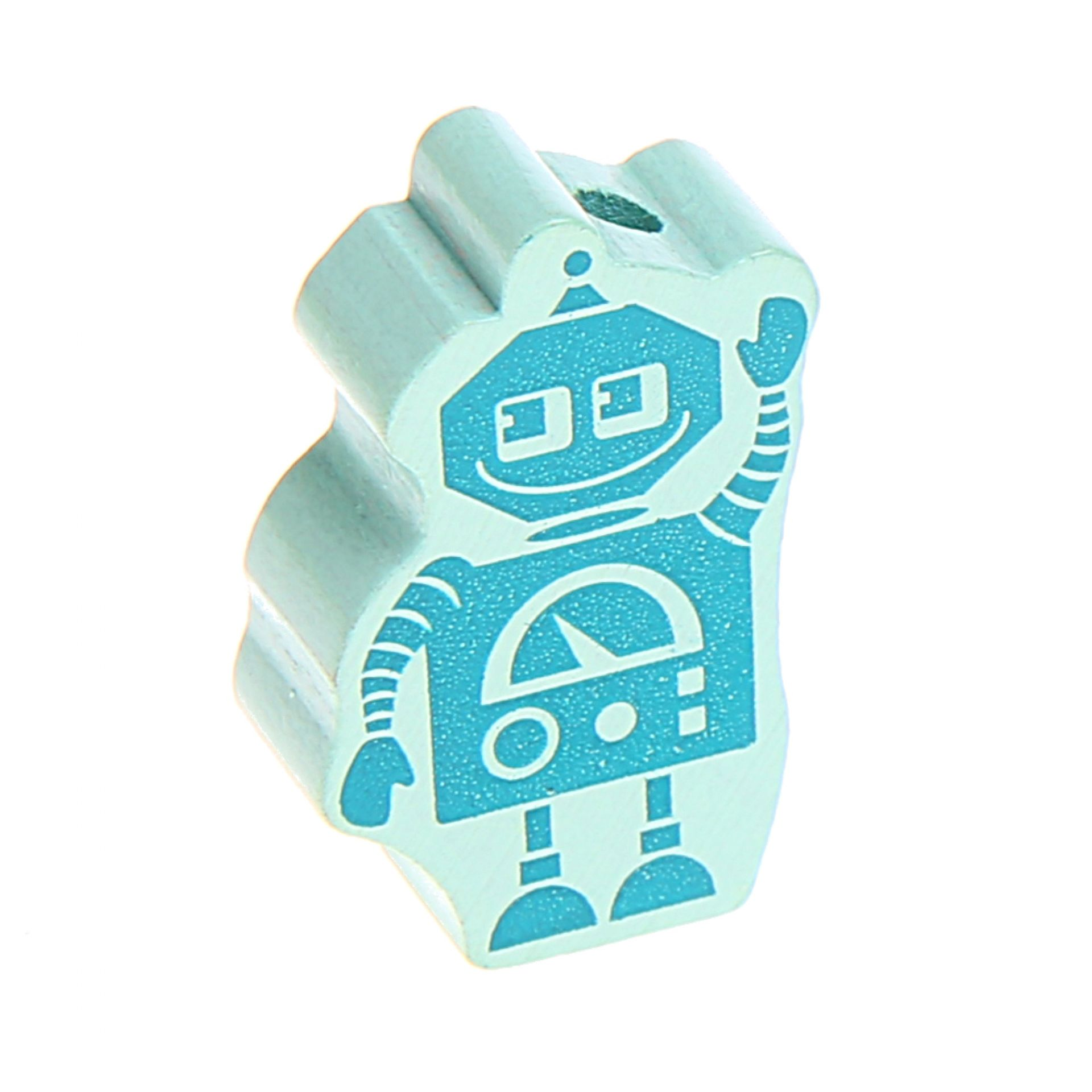 Motivperle Roboter 'mint' 894 auf Lager