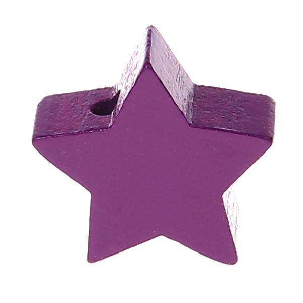 Motivperle Stern mini 'purpur' 415 auf Lager