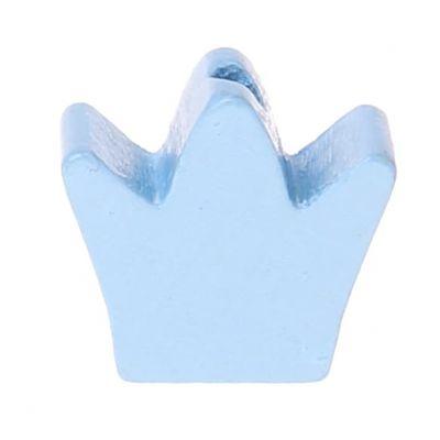 Motivperle Frästeil Krone 'babyblau' 509 auf Lager