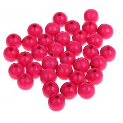 Neonperlen 10mm • 50 Stück 'neon-pink' 0 auf Lager