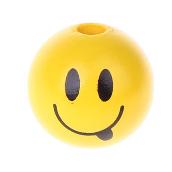 Motivperle Smiley 'frech' 935 auf Lager