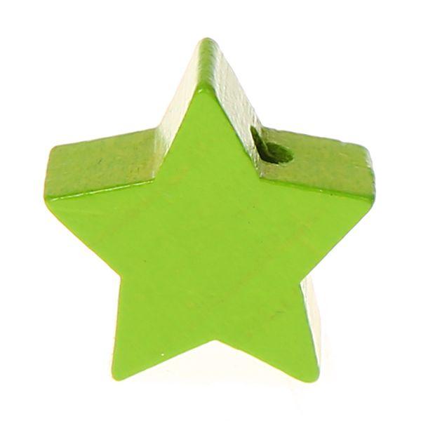 Motivperle Stern mini 'gelbgrün' 1506 auf Lager