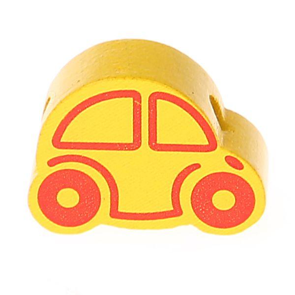Motivperle Auto Mini 'gelb' 1010 auf Lager