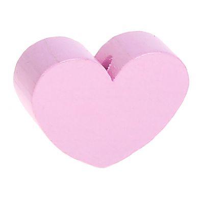 Motivperle Formperle Herz Groß 'rosa' 719 auf Lager