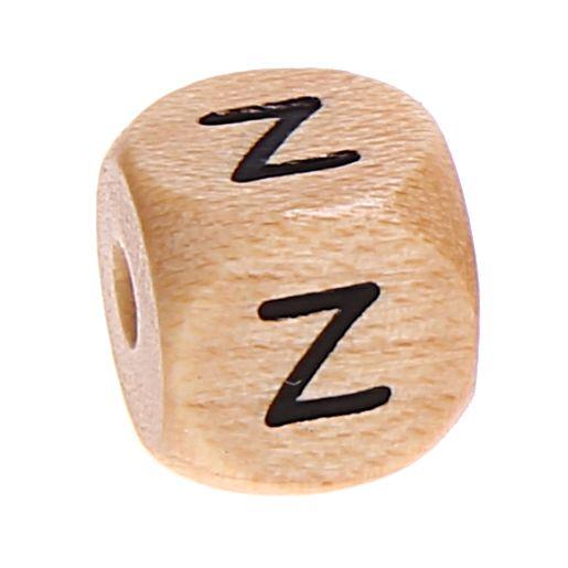 Buchstabenwürfel Holz geprägt 10 mm 'Z' 1539 auf Lager