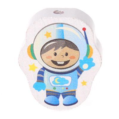 Motivperle Astronaut 'babyblau' 3 auf Lager
