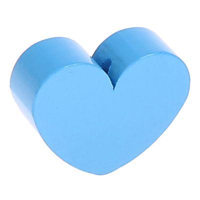 Motivperle Formperle Herz Groß 'skyblau' 234 auf Lager