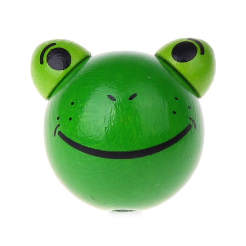 Motivperle 3D Frosch 'grün' 1238 auf Lager