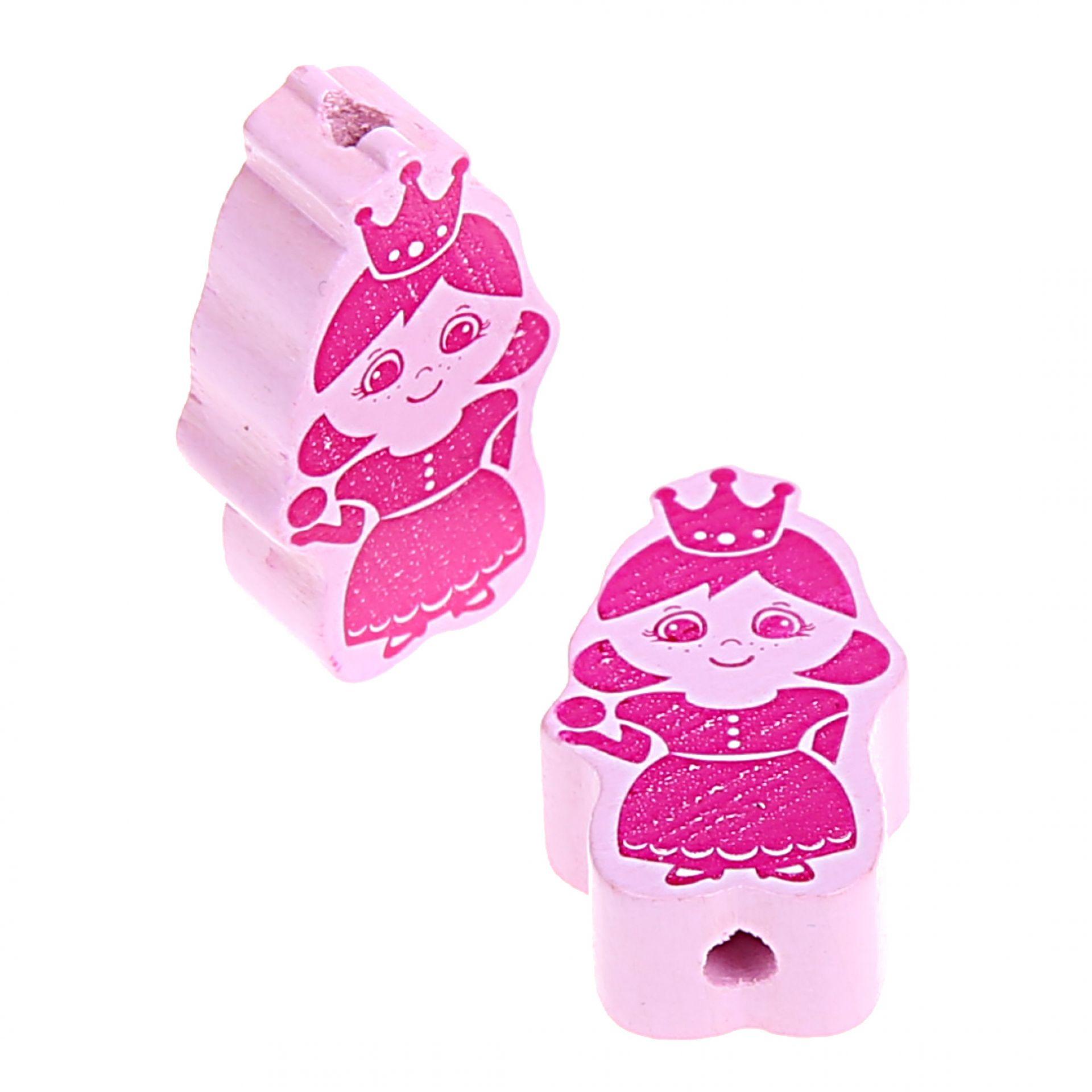 Motivperle Prinz/Prinzessin 'Prinzessin rosa ' 955 auf Lager