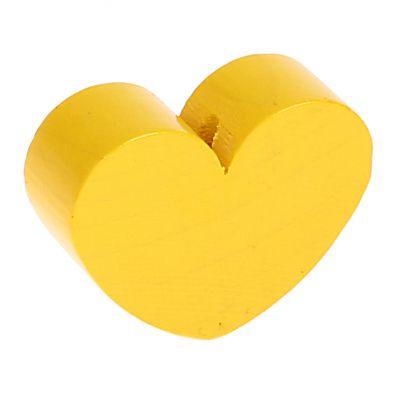 Motivperle Formperle Herz Groß 'gelb' 338 auf Lager