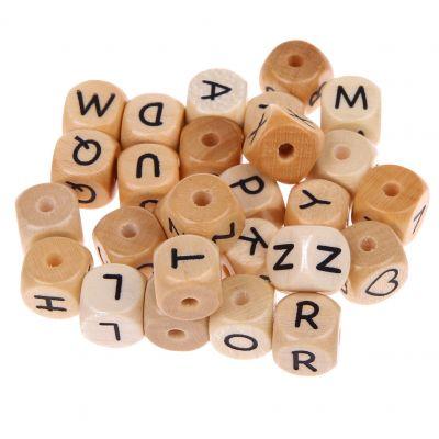 Buchstabenwürfel Holz geprägt 10 mm '♥' 360 auf Lager