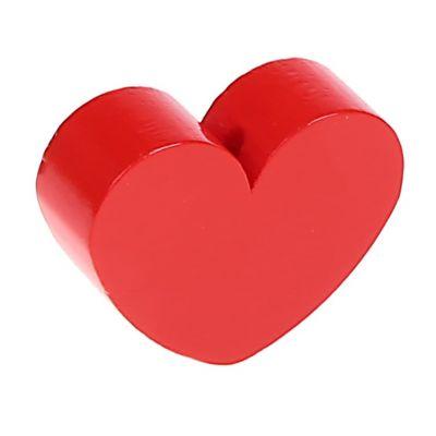 Motivperle Formperle Herz Groß 'rot' 181 auf Lager